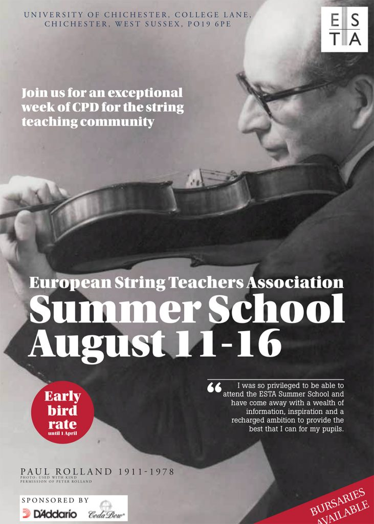 ESTA Summer School 2019