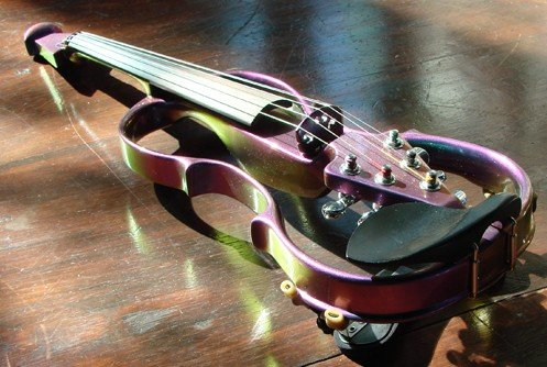 For sale: electric violin
